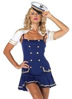 Capitaine de vaisseau forme Sailor Costume Costume marine