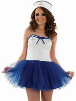 Tutu sexy Sailor Costume de fille Costume marine
