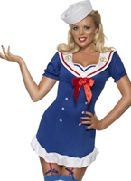 Fièvre Pin Up Ohé Sailor Costume Costume marine
