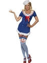Costume marine Fièvre Pin Up Ohé Sailor Costume