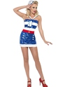 Costume marine Fièvre Sequin Sailor Costume