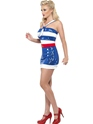 Costume marine Fièvre Sequin Sailor Costume