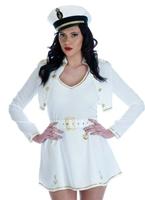 Sexy Costume de capitaine de navire Costume marine