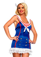 Fringants First Mate Sailor Costume Costume marine