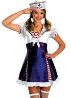 Ohé camarade Sailor Costume de fille Costume marine