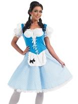 Dorothy longue robe Costume Costume princesse