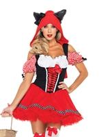 Costume de chaperon rouge loup Costume princesse