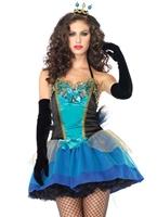 Beauté bleu Mesdames Costume Costume princesse