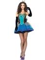 Costume princesse Beauté bleu Mesdames Costume