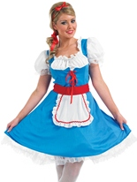 Alice longue robe Costume Costume princesse