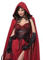 Costume de Dark Red Riding Hood Costume princesse