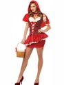 Costume princesse Eye Candy Red Riding Hood Costume