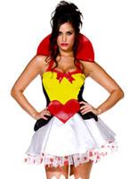 Reine de Costume de coeurs Costume princesse