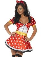 Costume de souris de fièvre Miss Costume princesse