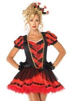 Costume Reine de coeur sombre Costume princesse