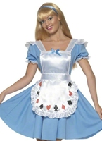 Jeu de cartes Alice Girl Costume Costume princesse