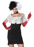 Costume de Madame mal Cruella De Ville Costume princesse