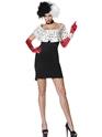 Costume princesse Costume de Madame mal Cruella De Ville