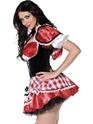 Costume princesse Fièvre rouge, Costume d'équitation