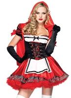 Divine Miss rouge Costume Costume princesse