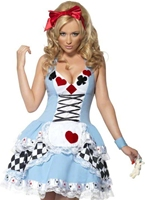 Costume de Miss fièvre Wonderland Costume princesse