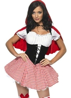 Fièvre Red Riding Hood Costume Costume princesse