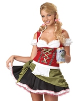 Bavarois Bar Maid Costume Costume princesse