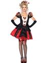 Costume princesse Costume de Dark Queen éblouissant