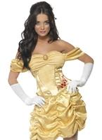Costume de princesse dorée de fièvre Costume princesse