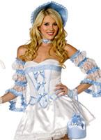 4 Pièces Costume Bo Peep Costume princesse