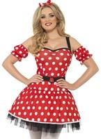 Costume de Minnie Mouse de fièvre Costume princesse