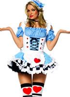 Miss Alice au pays des merveilles Costume Costume princesse