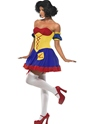 Costume princesse Rebel Toons neige Costume blanc