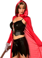 Rebel Toons Red Riding Hood Costume Costume princesse