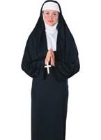 Costume de nonne 4 en 1 nouveauté Costume religieuse