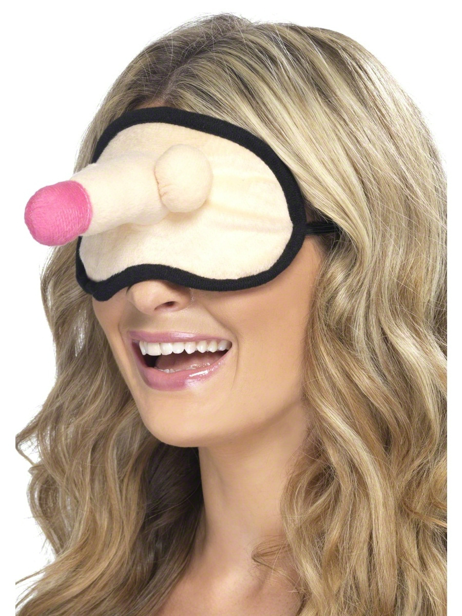 Entairement vie jeune fille Poule nuit peluche Willy Eyemask