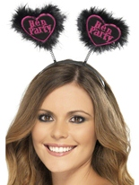 Hen Party Love Heart Boppers Entairement vie jeune fille