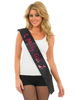 Sash Girl Party Entairement vie jeune fille