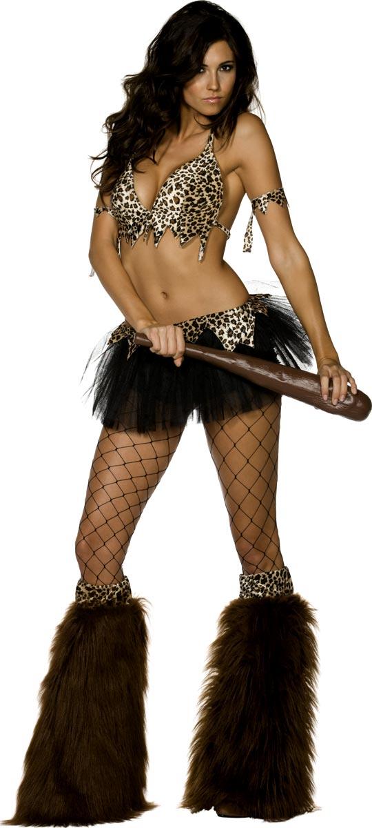 Femme des cavernes Grotte de fièvre Babe Costume
