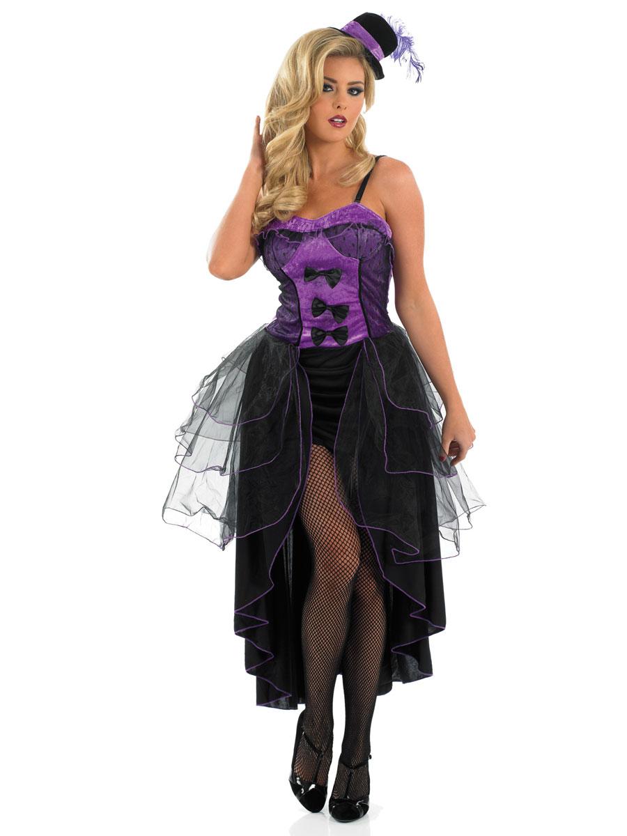 costume burlesque violet moulin rouge d guisement femme 01 03 2019. Black Bedroom Furniture Sets. Home Design Ideas