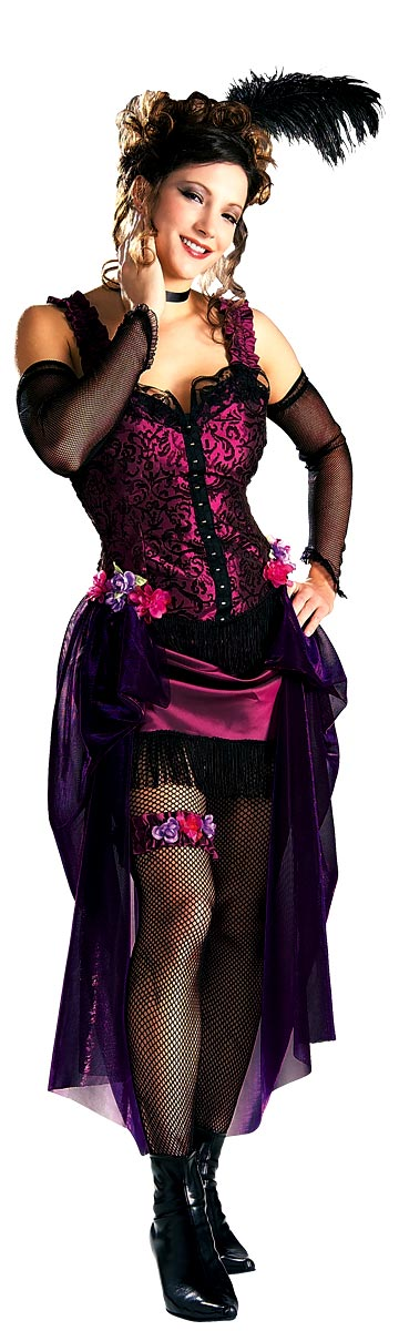 Moulin Rouge Saloon Girl Costume