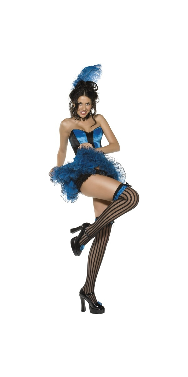 Moulin Rouge Boutique bleu cancan Costume fille