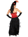 Moulin Rouge Costume Robe Burlesque rouge