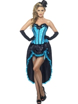 Costume de danseuse burlesque Moulin Rouge