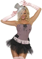 Fièvre Fringe Stripe Costume Burlesque Moulin Rouge