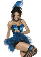 Boutique bleu cancan Costume fille Moulin Rouge