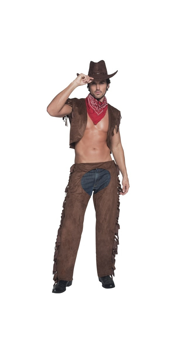 Déguisement de cow-boy Ride Em Cowboy haut Costume