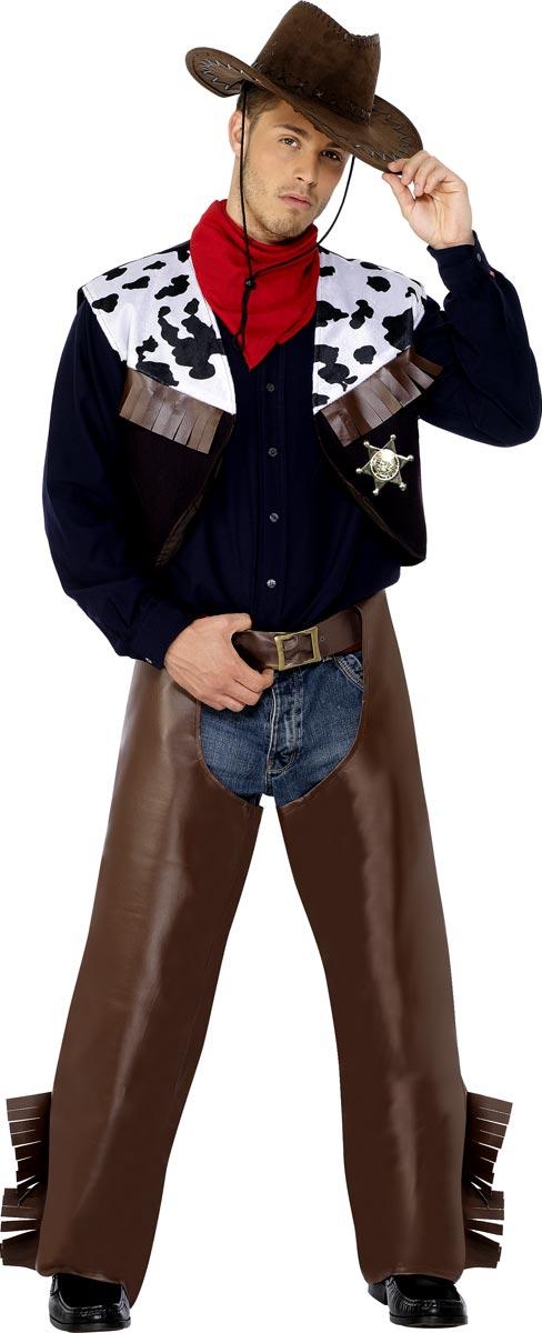 Déguisement de cow-boy Cow-Boys Costume marron