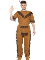Costume d'Indien courageux Déguisement de cow-boy