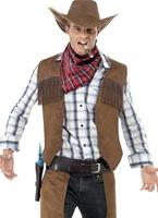 Costume de Cowboy de frange Déguisement de cow-boy
